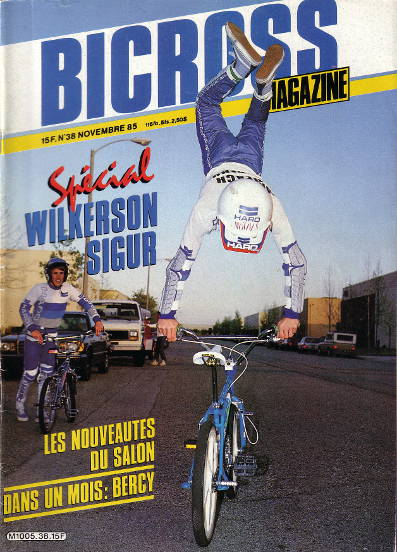 ron wilkerson bicross magazine 11 1985