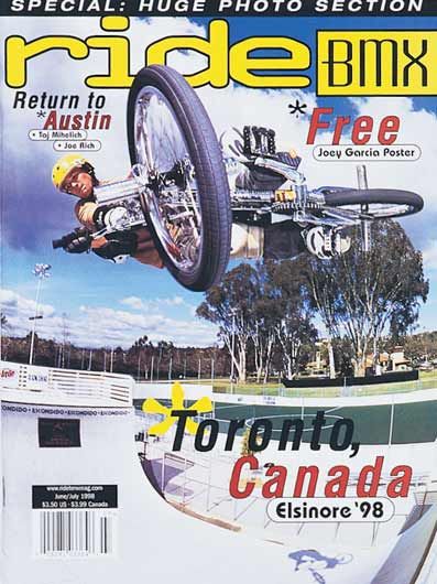 Ride BMX US cover