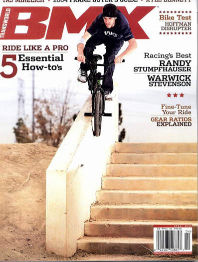 mike ardelean transworld bmx 04 2004